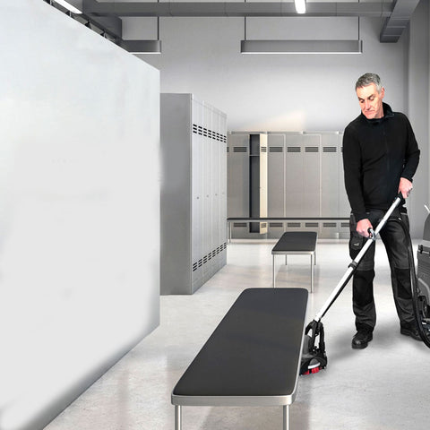 Deep clean ALL areas with FORCE