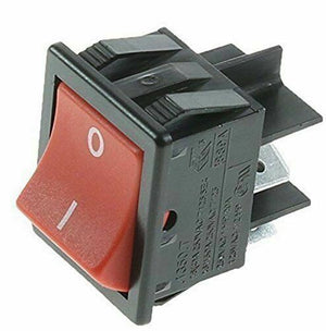 Numatic On Off Switch Red Rocker Switch Henry Hetty Basil Edward James - Vacuum Spares