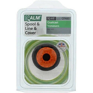 ALM QT485 Universal Strimmer Spool, Line And Cover - Suits Qualcast - Strimmer Spares