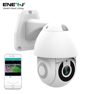 Smart Wifi IP Outdoor Dome Camera IP65 - 1080P HD - 5 x Zoom - Night Vision - Smart Home