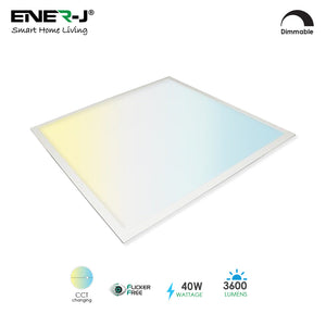 Smart WiFi Enabled LED Panel 60x60cms Colour Changing & Dimmable - Smart Home
