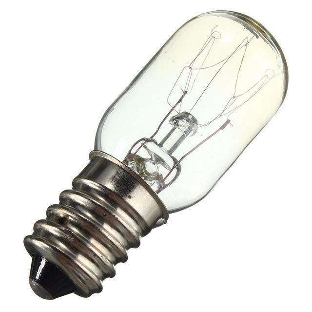 Universal 15W E14 Fridge Incandescent Bulb - Warm White