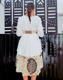 Kelly Dress White - Nganoh