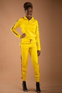 Tracksuit Set (Golden Yellow) - Nganoh