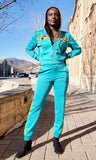 Tracksuit Set (Sea Green) - Nganoh