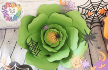 Load image into Gallery viewer, Halloween Paper Flower Set | Halloween Floral Decorations | Wall Art