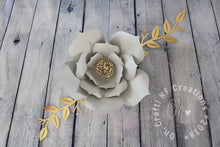 Load image into Gallery viewer, 12 Piece Paper Flower Set | Floral Nursery |  Wall Art | Baby Nursery | Girl Nursery  | Baby Shower Decor | Wedding Decor