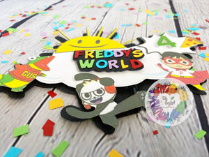 Ryan's World Inspired Cake Topper | Ryan's World Party Decor | Ryan's World Birthday Party | Ryan's World Party Decor