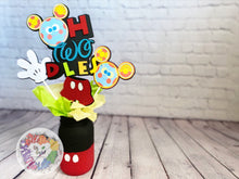 Load image into Gallery viewer, Mickey Mouse Centerpieces | Mickey Mouse Birthday | Mickey Mouse Party | Mickey Mouse Baby Shower | Disney Baby Shower