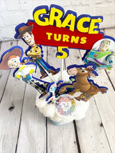 Load image into Gallery viewer, Toy Story Centerpieces | Toy Story Themed Props| Toy Story Birthday | Baby Shower | Woody | Buzz