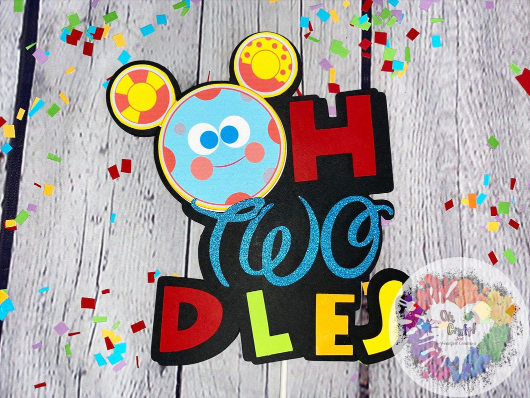 Oh Toodles Cake Topper | Mickey Mouse Cake Topper | Mickey Mouse Clubhouse Party | Mickey Mouse Birthday | Mickey Mouse Party Decor