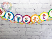 Load image into Gallery viewer, Cocomelon Baby's First Year Monthly Banner | Newborn to 12M | Milestone Banner | Cocomelon Birthday