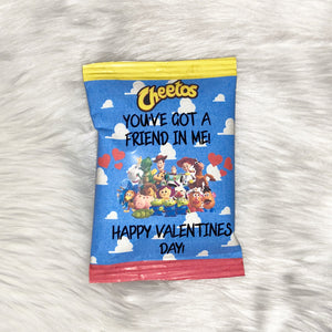 Valentine's Day Chip Bags | Valentine's Day Favors | Valentine's Day | Digital | Printable| Printed | Custom Chip Bags | Birthday Favors