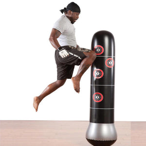 Inflatable Boxing Bag With Air Pump