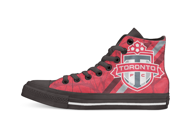 Toronto FC Football Unisex High Top  shoes