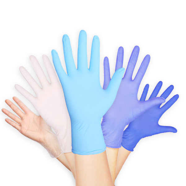 100pcs Disposable Rubber Latex Gloves