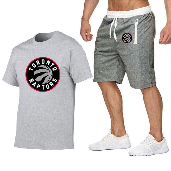 Raptors Jersey Men T Shirt  & Shorts Set