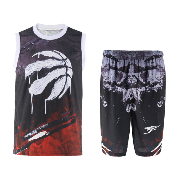 Raptors Street basketball breathable training suit