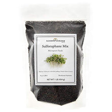Load image into Gallery viewer, Sulforaphane MICROGREEN Seed Mix | Perfect for Microgreen Growing Trays | Kale, Cabbage, Turnip & Broccoli Sprouting Seeds | Non GMO Heirloom Seeds | 1 LB Resealable Bag | Rainbow Heirloom Seed Co.
