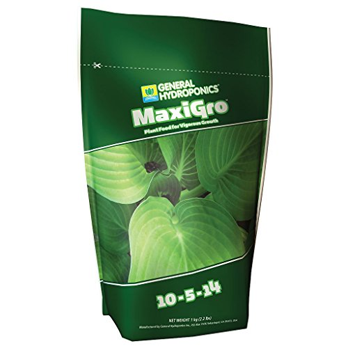 General Hydroponics MaxiGro Plant Food For Vigorous Growth, 2.2 lb