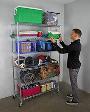 Load image into Gallery viewer, SafeRacks NSF 6-Tier Wire Shelving Rack
