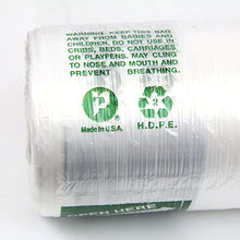 Load image into Gallery viewer, Large Plastic Produce Bag Roll, US Made HDPE