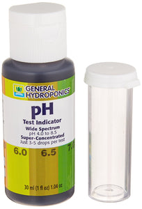General Hydroponics HGC722145 pH Test Indicator, 1-Ounce