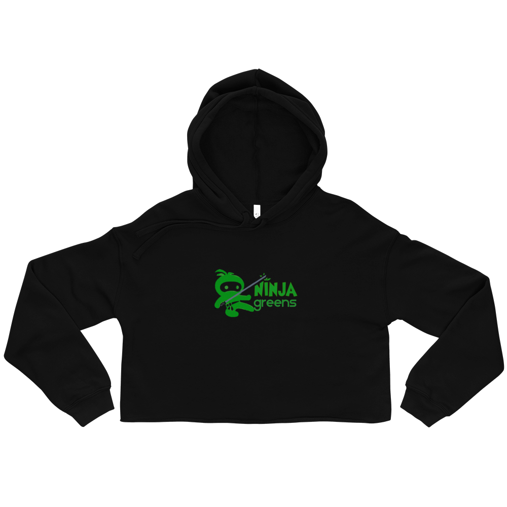 Powered by Plants Crop Hoodie
