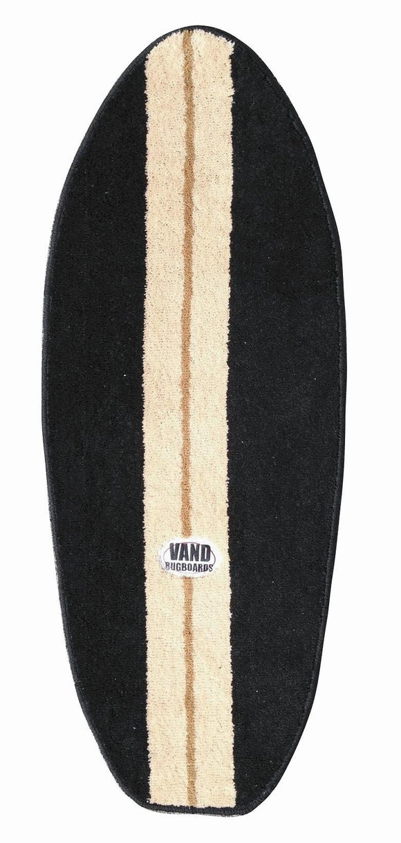 Black Surfboard Rug