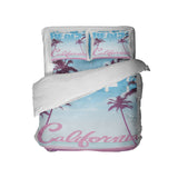 CALIFORNIA SURFER GIRL BEACH COMFORTER SET FROM SURFER BEDDING