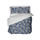 Surfer Bedding™ Blue Hawaiian Surfer Plaid Comforter Set from Extremely Stoked