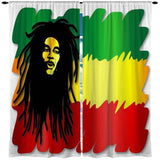 RASTA MON WINDOW CURTAINS