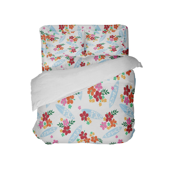 SURFER GIRLS SURFBOARD BEDDING SET FROM EXTREMELY STOKED