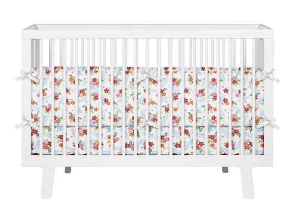 SURFER GIRL HAWAIIAN SURFBOARDS BABY CRIB BEDDING SET