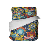 CALIFORNIA SURF RIDERS SURFER BEDDING COMFORTER SET