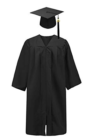 Mortimer Jordan Cap and Gown