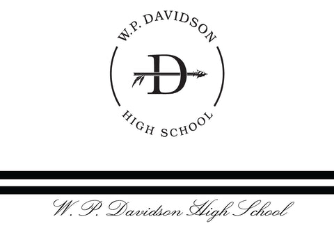 Davidson Custom Announcements (Pack of 25)