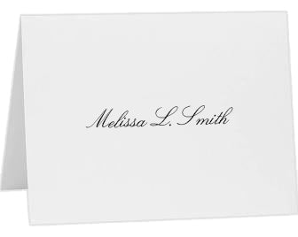 25 PERSONALIZED THANK YOU NOTES
