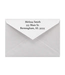 25 RETURN ADDRESS ENVELOPES