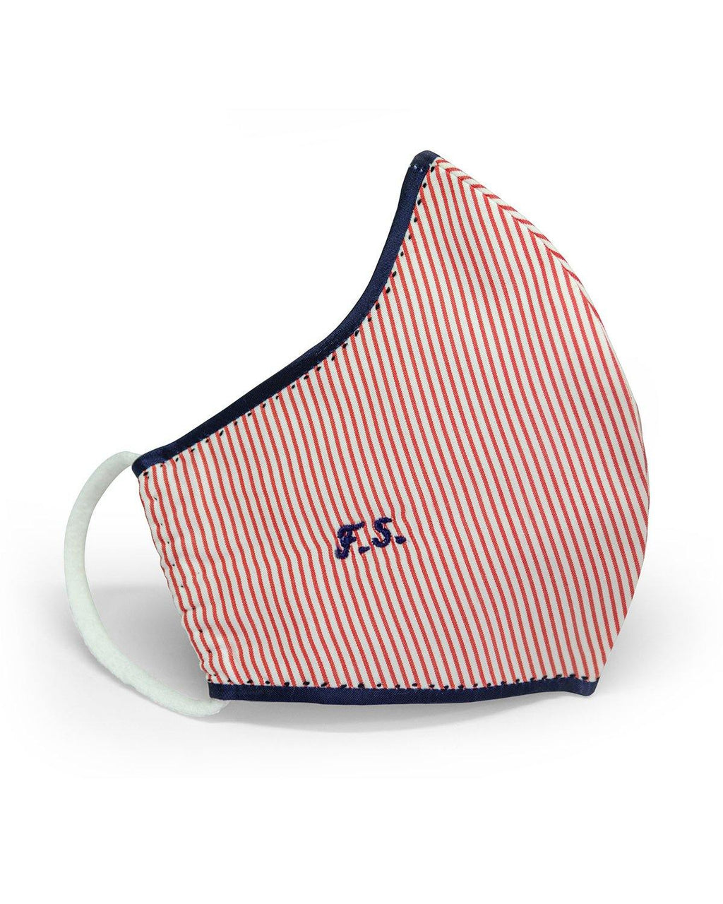 Tailored Face Mask – Red Stripes - FRANCESCO GUIDA