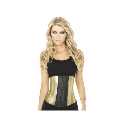 Exclusive Metallic Gold Waist Cincher