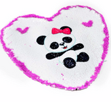 Custom Heart Reversible Sequence Pillow