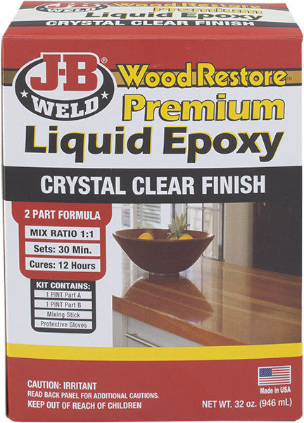 Wood Restore Premium Liquid Epoxy Kit | J-B Weld