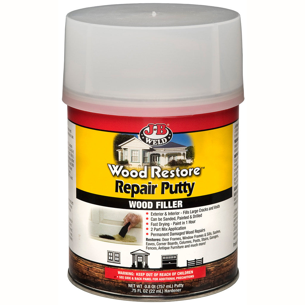 Exterior Wood Filler Wood Restore Repair Putty  Jb Weld
