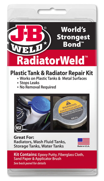 Radiator Repair: Plastic Radiator Repair Kit