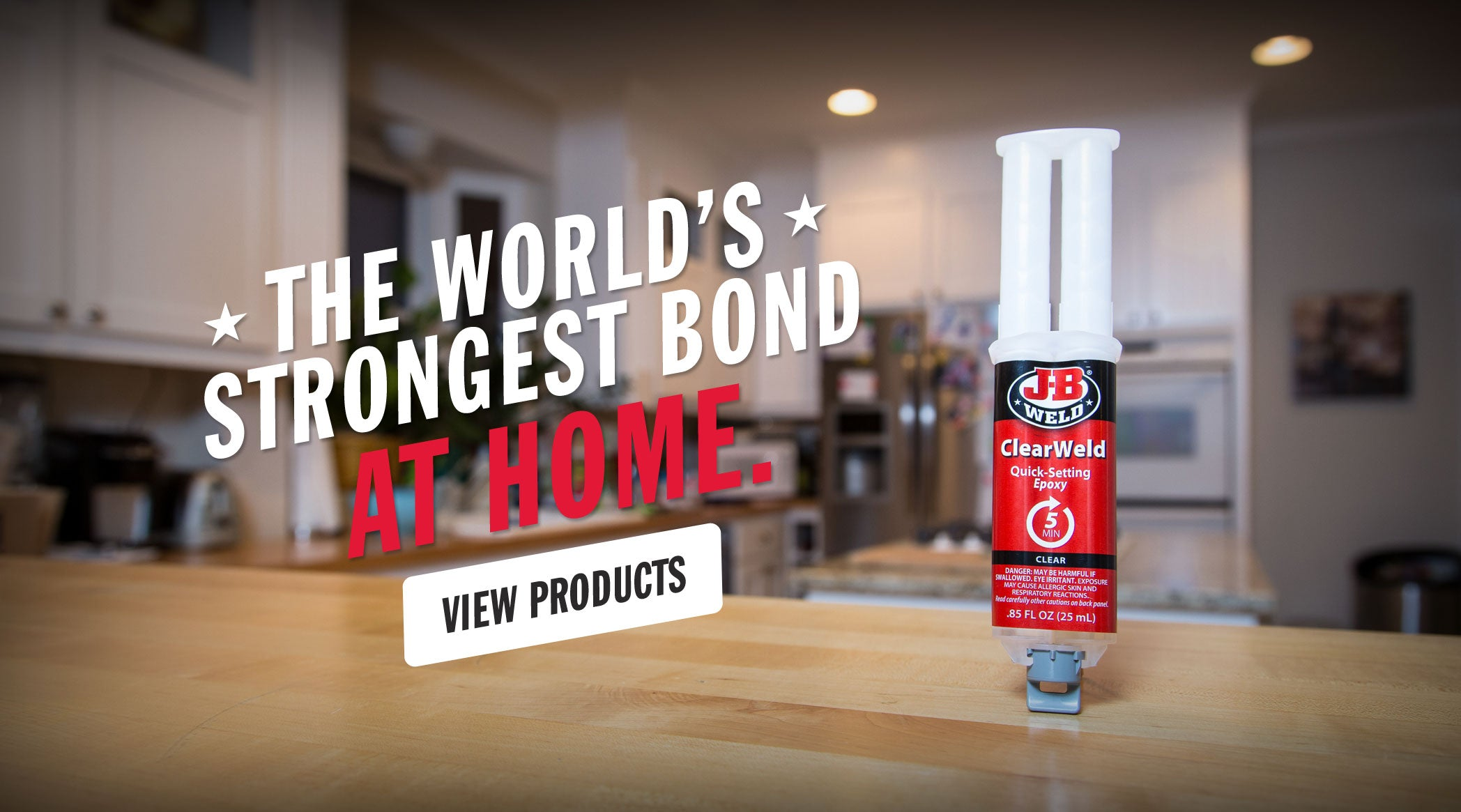 The World's Strongest Bond At Home