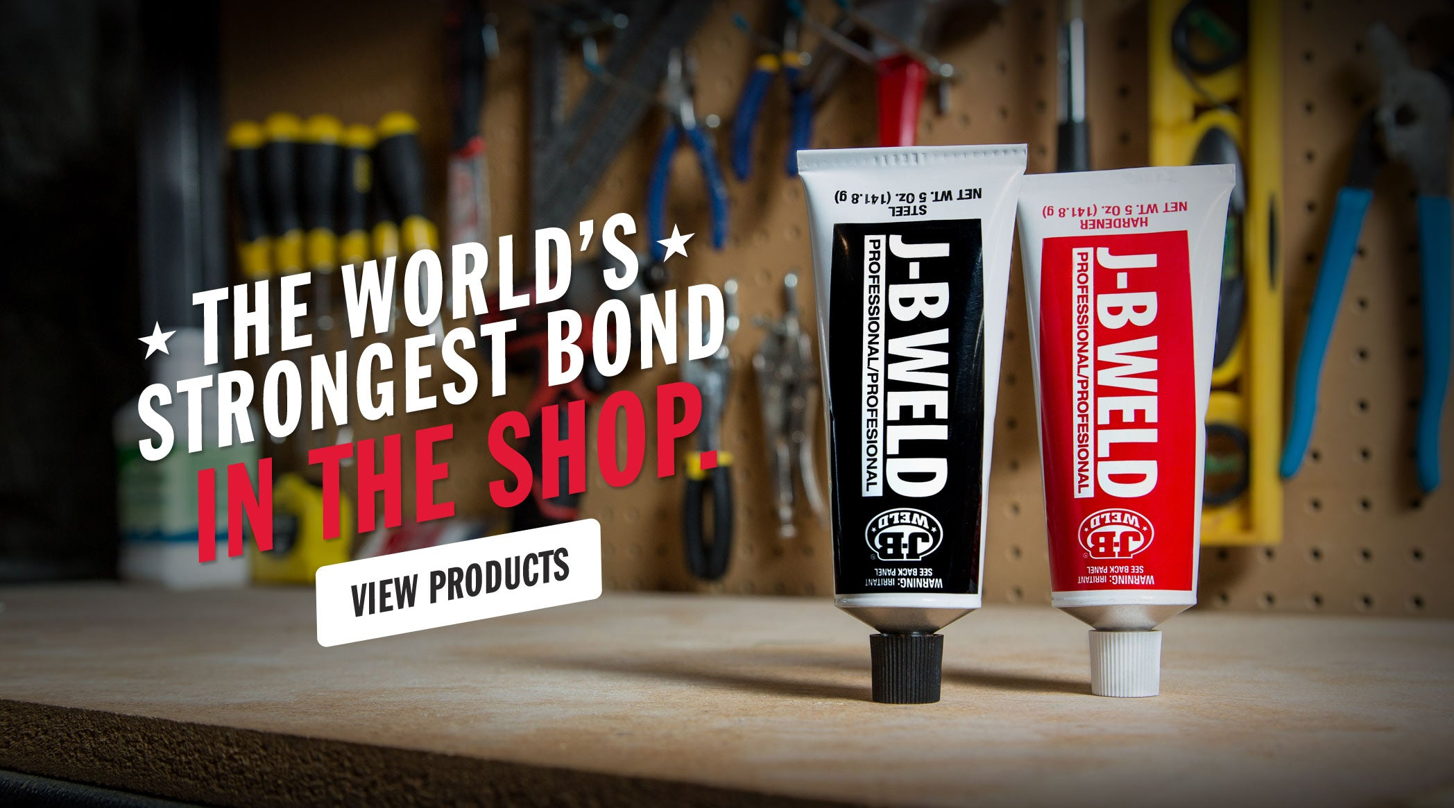 The World's Strongest Bond In the Shop