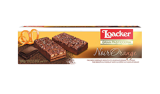 Loacker | Gran Pasticceria Noir Orange 100g