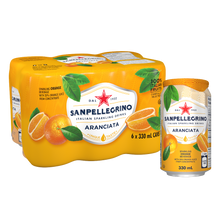 Load image into Gallery viewer, San Pellegrino Aranciata 6Pack