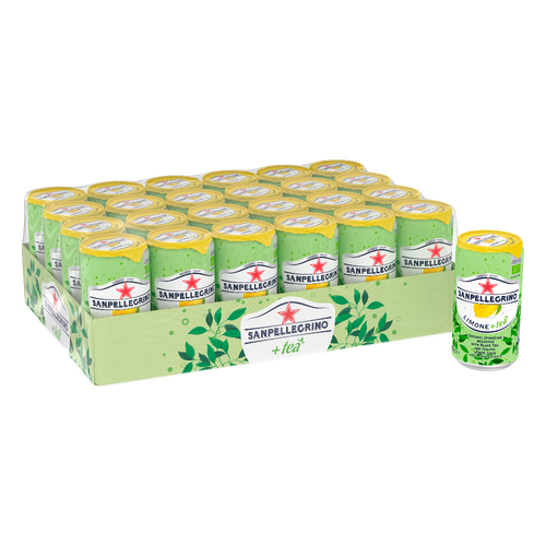 San Pellegrino Organic Lemon Ice Tea Case  Edit alt text